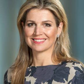 Her Majesty Queen Maxima of the Netherlands Visits a Class at the ROC van Amsterdam – MBO College Amstelland.