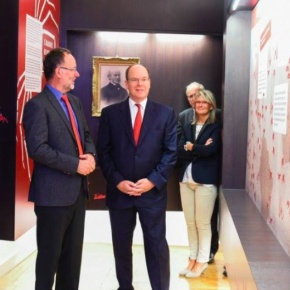 (VIDEOs) Prince Albert II of Monaco Visits the Muséum National d'histoire Naturelle.