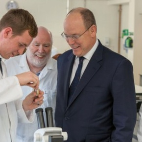 (VIDEO) HSH Prince Albert II of Monaco Visits Plymouth University.