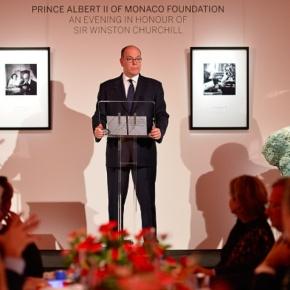 HSH Prince Albert II of Monaco Attends a Gala Dinner inLondon.