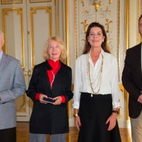 (VIDEO) HRH Princess Caroline of Hanover Presides Over the 2015 Prix de la Fondation Prince Pierre.