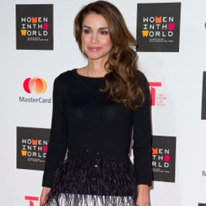 (VIDEOS) HM Queen Rania of Jordan Attends the Women in the World Summit.