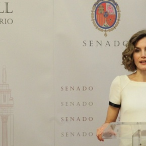 HM Queen Letizia of Spain Presides Over an Award Ceremony.