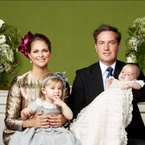 (VIDEOS) The Swedish Royal Court Releases New Photos of HRH Prince Nicolas of Sweden's Christening.