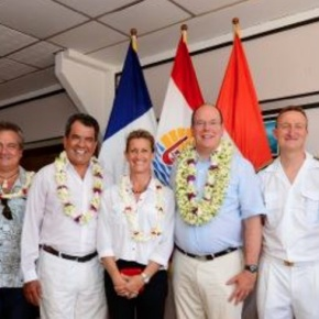 (VIDEOS) HSH Prince Albert II of Monaco Visits the SouthPacific.