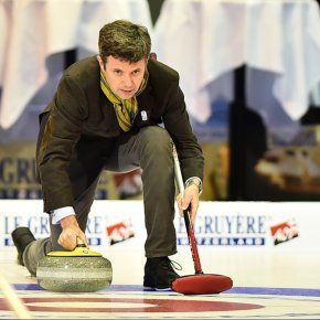 (VIDEO) HRH Crown Prince Frederik of Denmark Opens the 2015 Le Gruyère European Curling Championships.