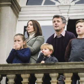 Members of the Danish Royal Family Watch the Traditional Hubertus Jagt.