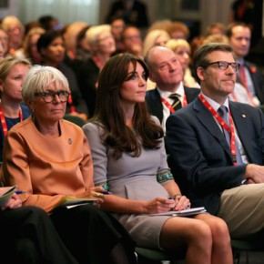 (VIDEO) HRH The Duchess of Cambridge Attends a Conference in London.