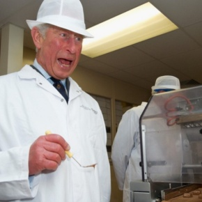 (VIDEOS) HRH The Prince of Wales and The Chocolate Factory.