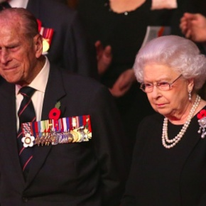 Members of the British Royal Family Attend the 2015 Royal British Legion Festival of Remembrance.