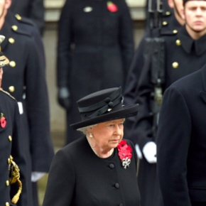 (VIDEOS) British and Dutch Royals Attend Remembrance Sunday at the Cenotaph.