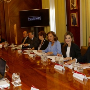 HM Queen Letizia of Spain Attends a Seminar at the Consejo Superior de Investigaciones Científicas.