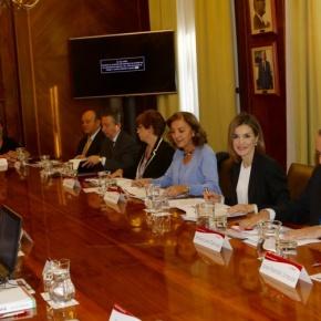 HM Queen Letizia of Spain Attends a Seminar at the Consejo Superior de InvestigacionesCientíficas.