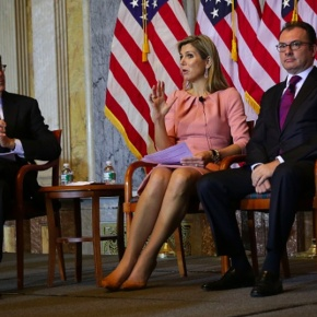 HM Queen Maxima of the Netherlands Visits Washington, D.C.