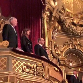 (VIDEO) HSH Prince Albert II of Monaco Attends a Concert at the Opéra de Monte-Carlo.