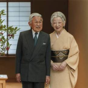 (VIDEO) TIMs Emperor Akihito and Empress Michiko of Japan Host New Year Greetings.