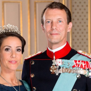TRHs Prince Joachim and Princess Marie of Denmark View a Screening of the Series, Versailles.