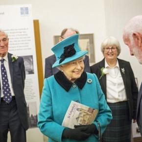 HM Queen Elizabeth II and HRH The Duke of Edinburgh Visit St. Columba's Church ofScotland.