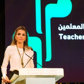 (VIDEO) HM Queen Rania of Jordan Opens the 2nd Teacher Skills Forum.