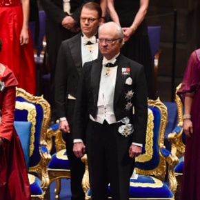 (VIDEOS) Members of the Swedish Royal Family Attend the 2015 Nobel Prize Ceremony.