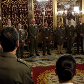 HM King Felipe VI of Spain Holds Audiences.