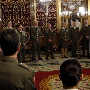 HM King Felipe VI of Spain HoldsAudiences.