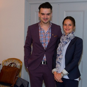 HRH Princess Sofia of Sweden Meets with the Founder of Idrott UtanGränser