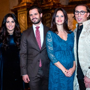 (VIDEO) TRHs Prince Carl Philip and Princess Sofia of Sweden Attend a Concert.