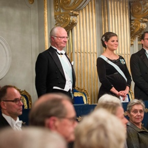 Members of the Swedish Royal Family Attend a Gala in Stockholm.