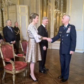 TM King Philippe and Queen Mathilde of Belgium Host a Reception in Brussels.