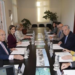 HM Queen Letizia of Spain Participates in a Meeting inMadrid.