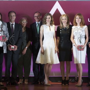 (VIDEO) Her Majesty Queen Letizia of Spain Presides Over the 25the Edition of the PremiosFEDEPE.