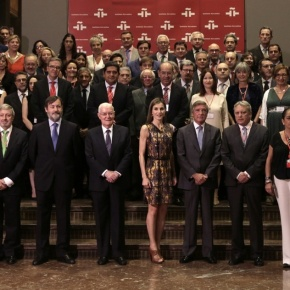 (VIDEO) Her Majesty Queen Letizia of Spain Participates in a Meeting inMadrid.