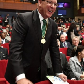 HSH Prince Albert II of Monaco Attends the Opening Ceremony of the 129th International Olympic Committee Session.