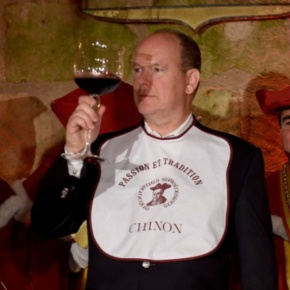 (VIDEO) HSH Prince Albert II of Monaco Visits Château de Chinon.