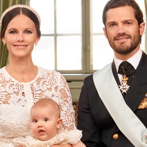 The Official HRH Prince Alexander of Sweden Christening Photos Released.