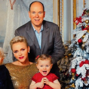 (VIDEO) A Christmas Video From TSHs Prince Albert II and Princess Charlene of Monaco.